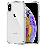"""spigen Ultra Hybrid Funda iPhone XS/X con Tecnología de cojín de Aire y protección híbrida de la Gota para iPhone XS 5.8"""" (2018) & X (2017) - Transparente"""