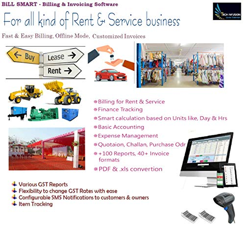 BILL SMART - Billing & Accounting Software For All Type of Service & Rent Business