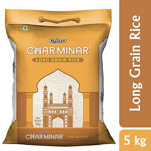 Kohinoor Charminar Long Grain Rice, 5 Kg