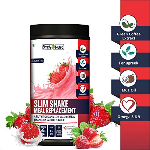 Simply Nutra Meal Repalcement Slim Shake 660 gram (Strawberry)
