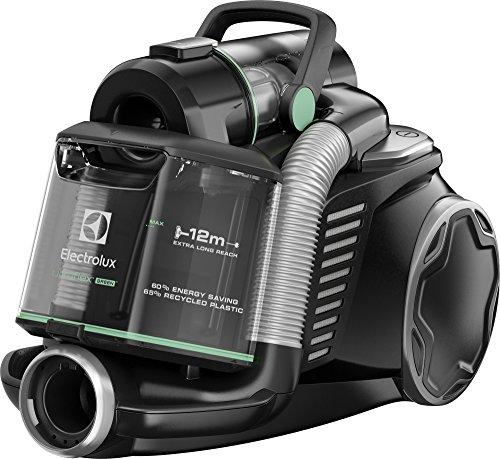 Electrolux EUF8GREEN Aspirapolvere senza Sacco Ultraflex, Sistema Motion Control, Hygiene Filter 12,...