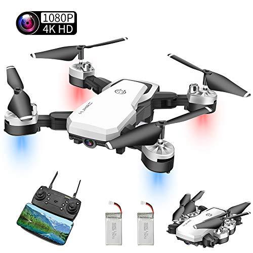Abblie Drone con Camara HD, Mini Drone con 1080P HD 40 Milioni di Pixel FPV WiFi, Headless...