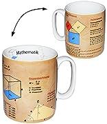 alles-meine.de GmbH Henkeltasse -  Mathematik - Daten & Fakten  - groß - 460 ml - Porzellan / Keramik - Schule - Mathe - Uni - Hochschule Abitur - Kaffeetasse - Student / Gymna..
