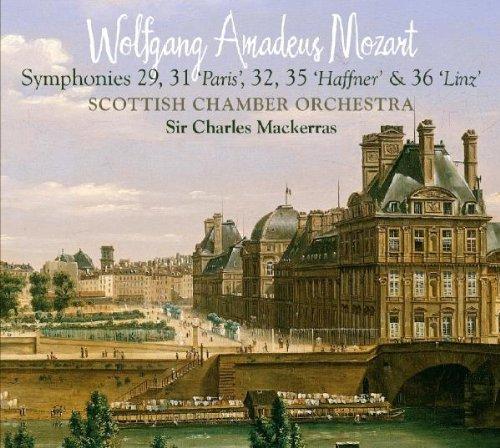 Mozart - Symphonies Nos 29, 31 [Paris], 32, 35 [Haffner] & 36 [Linz] [Hybrid SACD - plays on all CD players]