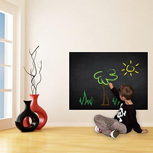 200 x 100 cm), in vinile, con funzione di lavagna da parete, per disegni o Lavagna adesiva...