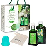 Weleda Bipack Cellulite Betulla 2019 - Olio Cellulite Betulla 100ml + Decotto di Betulla 200ml -> In OMAGGIO Weleda Slim Cup per Massaggio Super Efficace + Beauty Bag Weleda