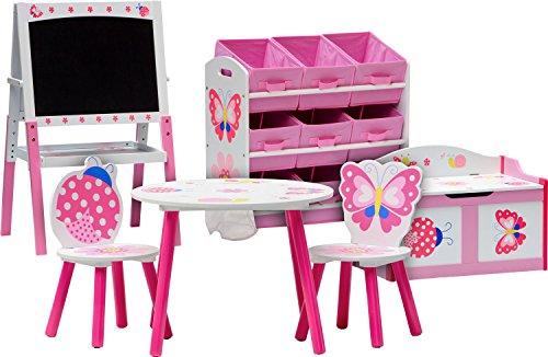 IB-Style - Set di mobili per bambini PAPILLON | 6 combinazioni | 6 pezzi: Set composto da tavolo per...