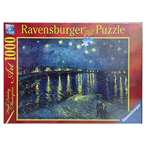 Ravensburger Italy Puzzle 1000 Pezzi Van Gogh: Notte ste,, 4005556156146