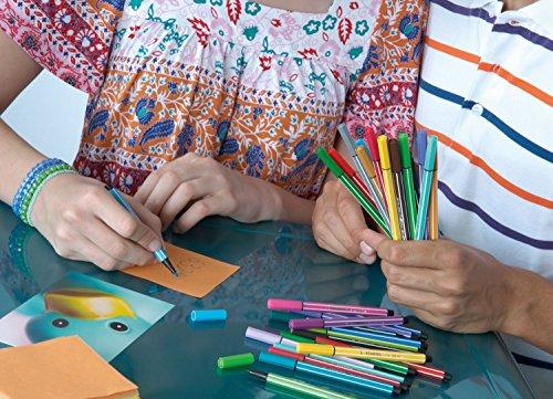 STABILO Pen 68 Pennarelli colori assortiti - Confezione da 12