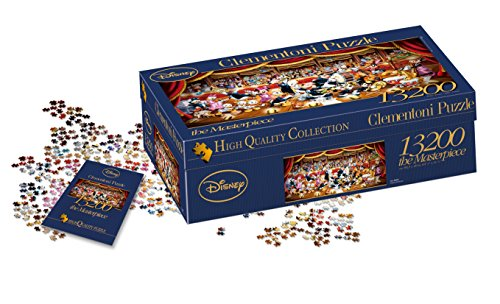 Clementoni - 38010 - High Quality Collection Puzzle - Disney Orchestra - 13200 Pezzi
