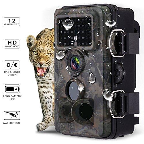 Powerextra Caméra de Chasse FullHD 12MP 1080P IP66 Ideal Pour Les...