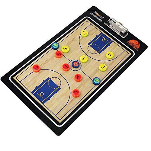 Tavola tattica Basket in PVC portatile Coaching Board Coaches Tattica di pallacanestro Consiglio...