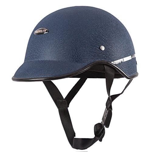 Habsolite All Purpose Half Face Safety Helmet with Quick Release Strap for Men & Women (Blue, Free Size)