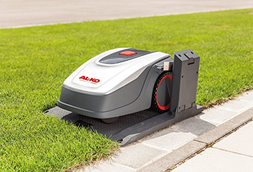 The AL-KO Robolinho 500 E Robotic Lawn Mower operates uniquely compared with many robotic mowers. This model is compact and agile with durable components and sophisticated technology that make it a reliable companion for daily lawn care.