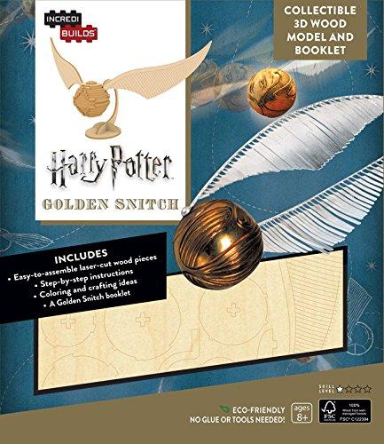 Incredibuilds. Harry Potter. Golden Snitch 3D Wood