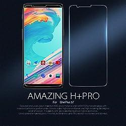 Nillkin Amazing H+ Pro - Protector de pantalla 9H 2.5D cristal templado de 0,2mm para OnePlus 5T
