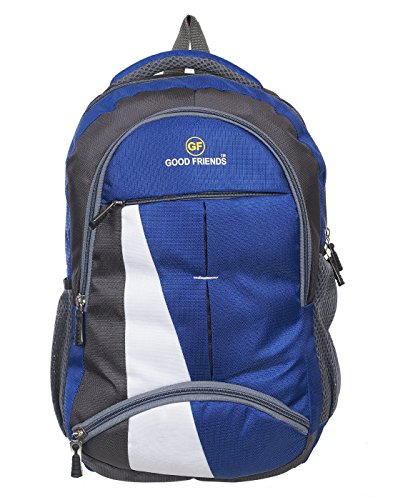 PETER INDIA Polyester 36 L Waterproof Royal Blue Backpack