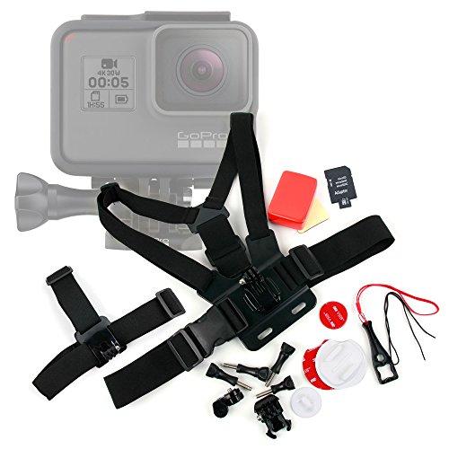 DURAGADGET Kit de Accesorios para Cámara Deportiva GoPro HERO7 Black, GoPro HERO7 Silver, GoPro HERO7 White