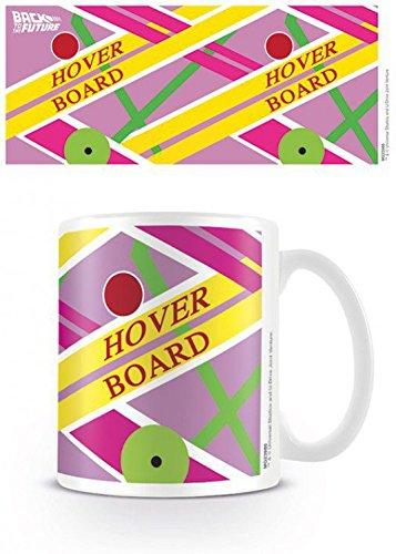 1art1 Ritorno al Futuro - Hoverboard Tazza da caffè Mug (9 x 8cm)