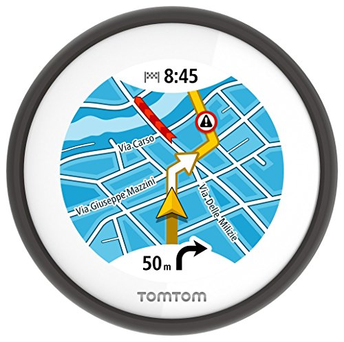 TomTom VIO (2,4 pouces) - GPS Scooter - Cartographie Europe 48 et Trafic à...