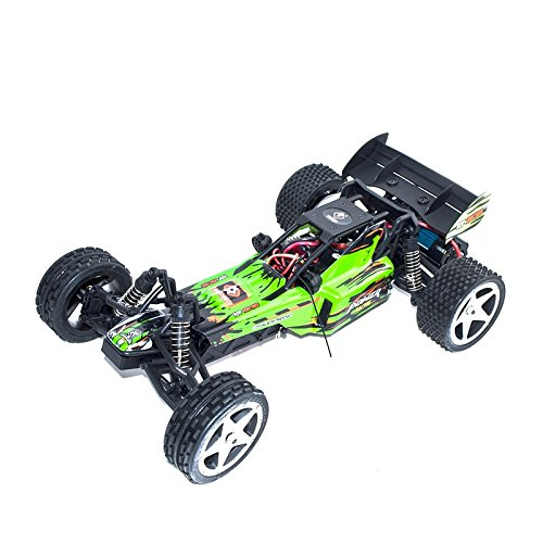 ALEKO RCC66959GREEN 2.4G Brushed Electric Powered Off-Road Buggy (1:12 Scale)