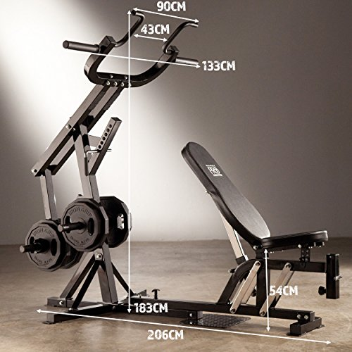Marcy Pro PM4400 Leverage Home Multi Gym and Bench | HIIT ...