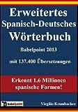 Erweitertes Spanisch-Deutsches Wörterbuch Babelpoint 2013