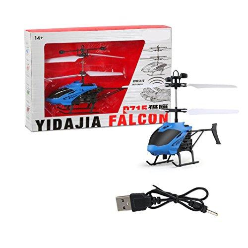 feiXIANG Elicottero Telecomandato a Raggi Infrarossi Maggiore Stabilità Piccolo per Bambini Drone...