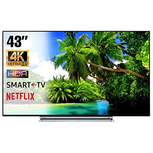 SMART TV 4K 43 Pollici Televisore Ultra HD Toshiba 43V6763DA HDR Cinema Serie Tv Dolby Wi-FI Wlan...