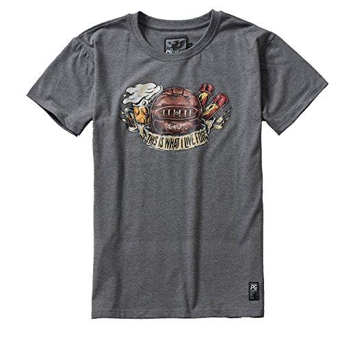 PG Wear What Live Camiseta Hombre gris M
