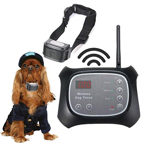 KBRD 1pcs Waterproof Remote Vibration Shock Dog Collar