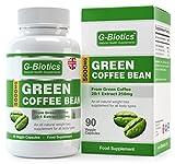 Cápsulas de Extracto de Grano de Café Verde G-Biotics ~ Suplemento EXTRA de ALTO GRADO