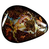 22.56 ct Pear Shape (25 x 20 mm) Play of Colors Australian Koroit Boulder Opal Natural Loose Gemstone