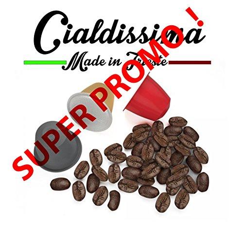 cialdissima 100 CAPSULE CAFFÈ NESPRESSO! 100% COMPATIBILI! LINEA ESPRESSO BAR!