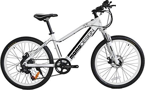 Momo Design K2, Bicicletta Elettrica Mountain Bike, 26'', Velocità 25km/h, Autonomia 32km,...