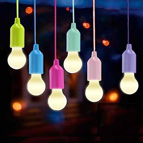 Lampade LED Lamp, Lampadina / Lampadine Lanterna da Campeggio, WEBSUN Portable 6 Pezzi Escursionismo...