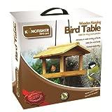 Kingfisher Bird-Bird Table Bois Suspendus