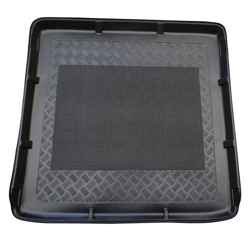ZentimeX Z922174 Vasca baule su misura con superficie scanalata e integrato tappeto antiscivolo
