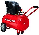 Einhell 4010440 Compresor TE-AC 270/50/10 Expert, 1800 W, potencia de aspiración 270 l/min, 2850...