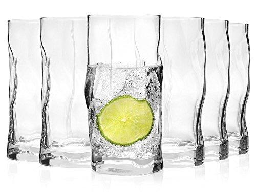 Bormioli, Set bicchieri 'sorgente', 6pezzi | Capacità: 420ml | Altezza totale del vetro...