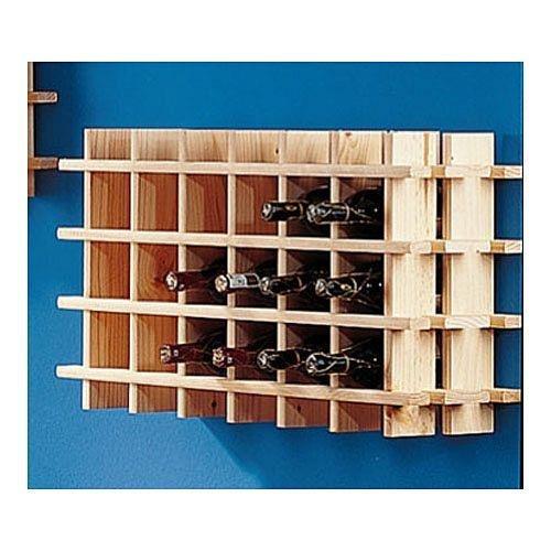 Cantinetta / scaffale per vino / sistema PRIMAVINO modulo per 24 bottiglie, legno di pino - a 54 x l...