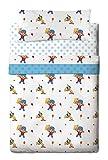 Zinkia Pocoyo Circus - Juego de sabanas 3 piezas para cama de 105 cm