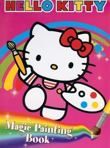 Hello Kitty: Magic Painting Colouring Book