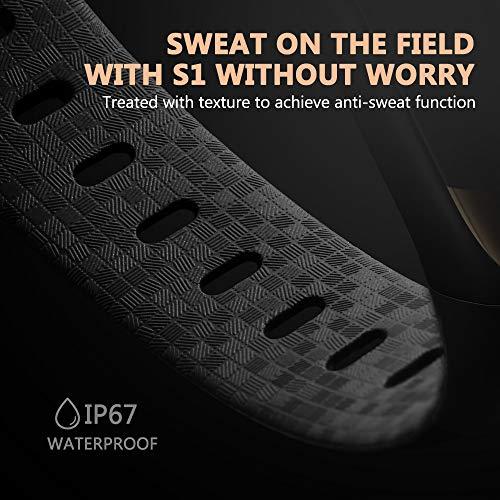 siroflo Fitness Tracker, Montre Connectée Tracker d'Activité IP67 étanche, Smartwatch Bracelet Bluetooth Podomètre avec Moniteur de Sommeil/... 27