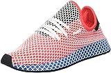 adidas Deerupt Runner, Scarpe da Ginnastica Uomo, Rosso (Solar Red/Solar Red/Bluebird), 44 EU