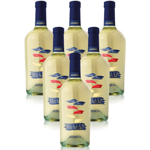Muller Thurgau IGT Astoria vino frizzante 6 X 75 cl.