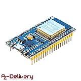 AZDelivery ESP32 NodeMCU Module Wlan Wifi Development Board mit CP2102 (Nachfolgermodell zum ESP8266) und gratis eBook!
