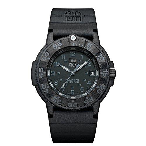 Luminox Original Navy SEAL Herren-Armbanduhr Analog Quarz Plastik - XS.3001.BO