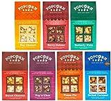 Popcorn Shed 7 Auswahlpaket - Das Perfekte Popcorn Geschenk - Popcorn Schnupperpack