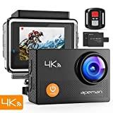 APEMAN Caméra Sport 4K 16MP WiFi avec Télécommande Appareil Photo Ultra...